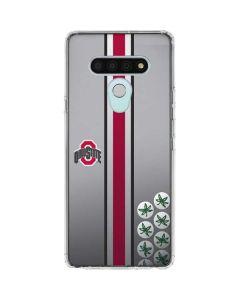 Ohio State University Buckeyes LG Stylo 6 Clear Case