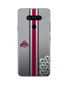 Ohio State University Buckeyes LG V40 ThinQ Skin