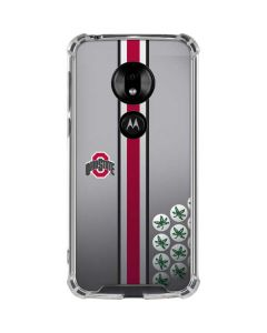 Ohio State University Buckeyes Moto G7 Play Clear Case