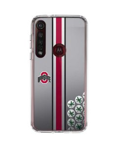 Ohio State University Buckeyes Moto G8 Plus Clear Case