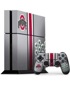 Ohio State University Buckeyes PS4 Console and Controller Bundle Skin
