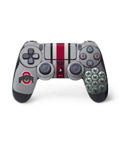 Ohio State University Buckeyes PS4 Controller Skin