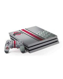 Ohio State University Buckeyes PS4 Pro Bundle Skin