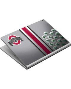 Ohio State University Buckeyes Surface Book Skin
