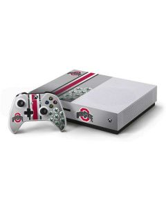 Ohio State University Buckeyes Xbox One S Console and Controller Bundle Skin