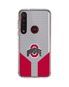Ohio State University Moto G8 Plus Clear Case
