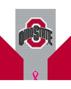 Ohio State Breast Cancer Galaxy Book Keyboard Folio 12in Skin
