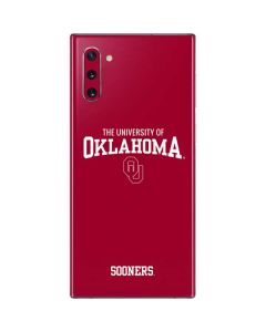 Oklahoma Basketball Galaxy Note 10 Skin