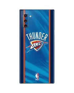 Oklahoma City Thunder Blue Jersey Galaxy Note 10 Skin