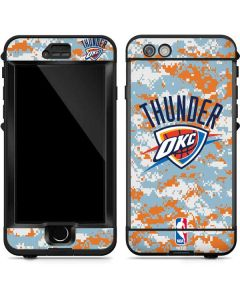 Oklahoma City Thunder Digi Camo LifeProof Nuud iPhone Skin