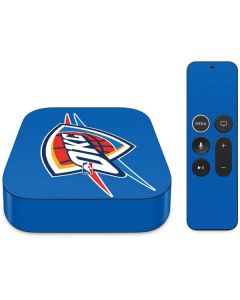 Oklahoma City Thunder Large Logo Apple TV Skin