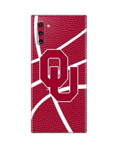 Oklahoma Sooners Basketball Galaxy Note 10 Skin