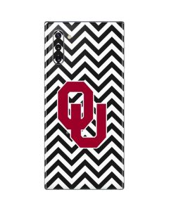Oklahoma Sooners Chevron Galaxy Note 10 Skin