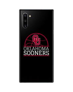 Oklahoma Sooners Cracked Galaxy Note 10 Skin