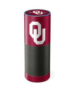 Oklahoma Sooners Red Amazon Echo Skin