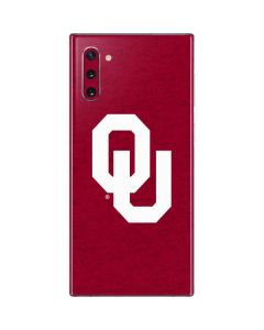 Oklahoma Sooners Red Galaxy Note 10 Skin