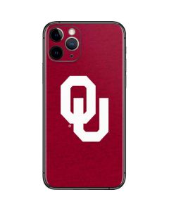 Oklahoma Sooners Red iPhone 11 Pro Skin