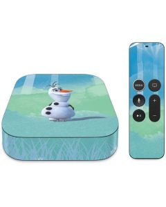 Olaf Apple TV Skin