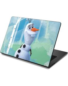 Olaf Dell Chromebook Skin