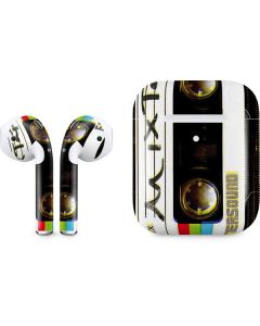 Old Mixtape Apple AirPods 2 Skin