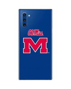 Ole Miss Galaxy Note 10 Skin