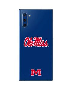 Ole Miss Logo Galaxy Note 10 Skin