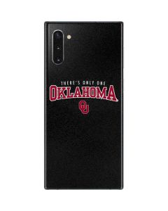 Only One Oklahoma Sooners Galaxy Note 10 Skin