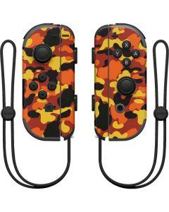 Orange Camo Nintendo Joy-Con (L/R) Controller Skin