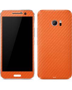 Orange Carbon Fiber 10 Skin