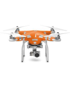 Orange DJI Phantom 3 Skin