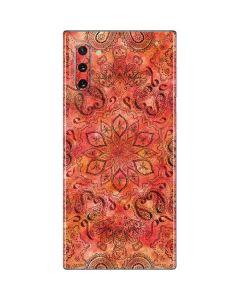 Orange Zen Galaxy Note 10 Skin