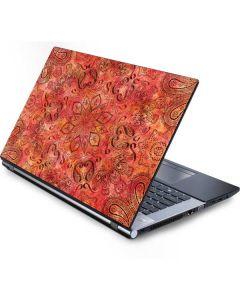 Orange Zen Generic Laptop Skin