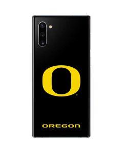 Oregon Ducks Black Gradient Galaxy Note 10 Skin