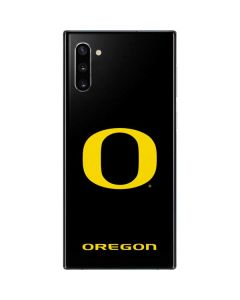 Oregon Ducks Black Gradient Galaxy Note 10 Skin