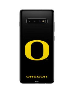 Oregon Ducks Black Gradient Galaxy S10 Plus Skin