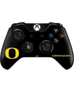 Oregon Ducks Black Gradient Xbox One Controller Skin