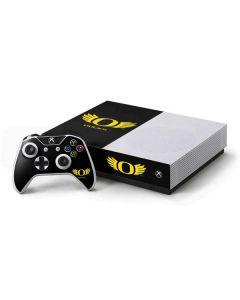 Oregon Ducks Black Xbox One S All-Digital Edition Bundle Skin