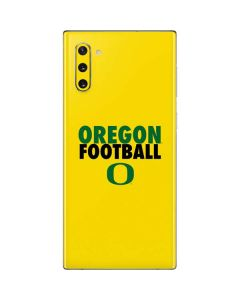 Oregon Ducks Football Galaxy Note 10 Skin