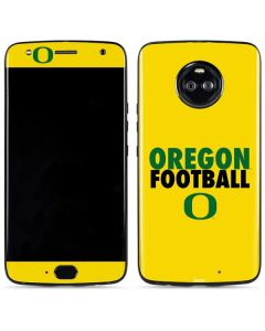 Oregon Ducks Football Moto X4 Skin