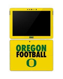 Oregon Ducks Football Surface Go Skin