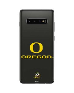 Oregon Ducks Galaxy S10 Plus Skin