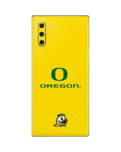 Oregon Ducks Green Gradient Galaxy Note 10 Skin