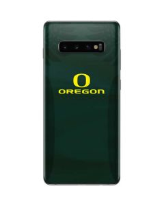 Oregon Ducks Logo and Wings Galaxy S10 Plus Skin