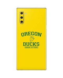 Oregon Ducks Quack Attack Galaxy Note 10 Skin