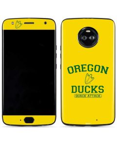 Oregon Ducks Quack Attack Moto X4 Skin