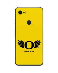 Oregon Ducks Yellow Google Pixel 3 XL Skin