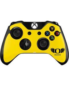 Oregon Ducks Yellow Xbox One Controller Skin