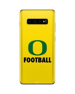 Oregon Football Galaxy S10 Plus Skin