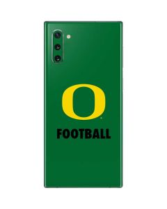 Oregon Football Green Galaxy Note 10 Skin