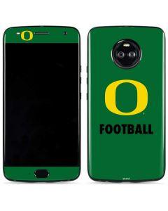 Oregon Football Green Moto X4 Skin